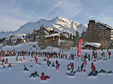 Avoriaz is a good family resort