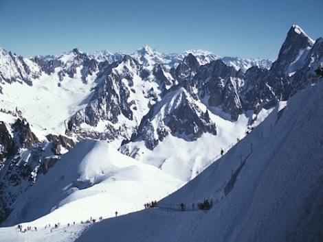Dare to be ... a Chamonix skier