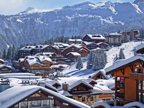Courchevel – French, but with evident Alpine charm in parts