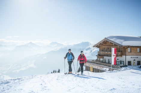 Kitzbühel's Bichlalm area is great for freeriding and ski touring (pic: Michael Werlberger)