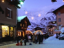 Courmayeur: passage to Italy