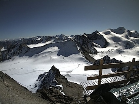 Pitztal glacier on Monday 3 October