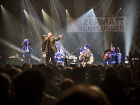 Simple Minds at Zermatt Unplugged. Photo: Rob Lewis Photography
