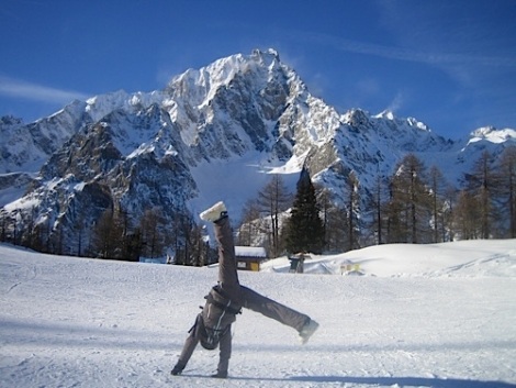 Cartwheel to Courmayeur  - great for a short break   [(c) D Watts]