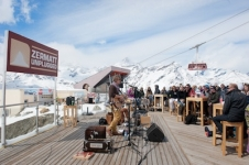 Music on the snow this season