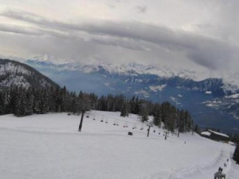 Excellent skiing conditions on offer in the Italian Alps. This is Aprica in Lombardy. Pic: apricaonline.com