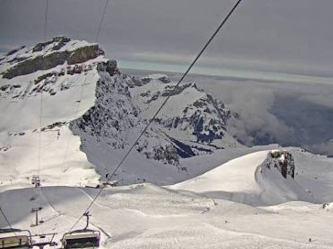 Excellent snow conditions in Engelberg, with more snow forecast on Sunday – 25 January 2019 –Photo: engelberg.ch