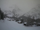 Heavy snow in the Northern Alps