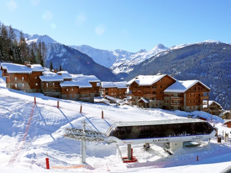 If you want a quiet base in Les Arcs the villages of Peisey Vallandry are ideal