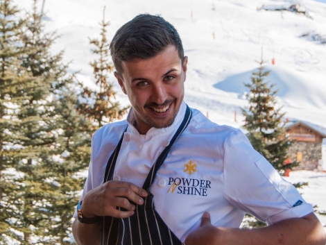 Powder N Shine chef Liam Peacegood will be in Chalet Neve this season