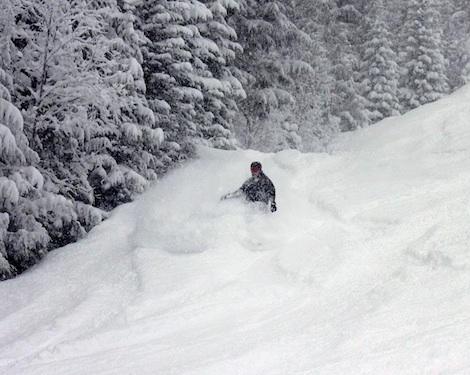 Looking for powder? Head to the Canadian ski resort of Revelstoke