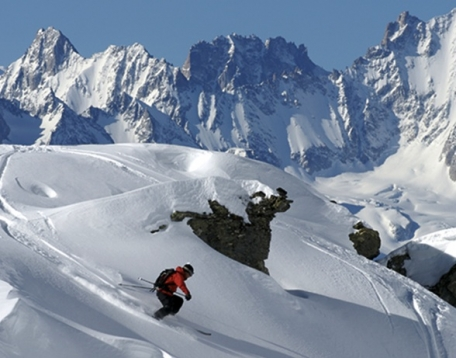 10 Top Resorts for Off-piste