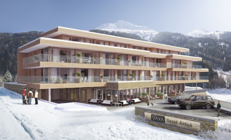 Ski resort properties are more affordable than for years – prices for this luxury development in St Anton start at £250,000