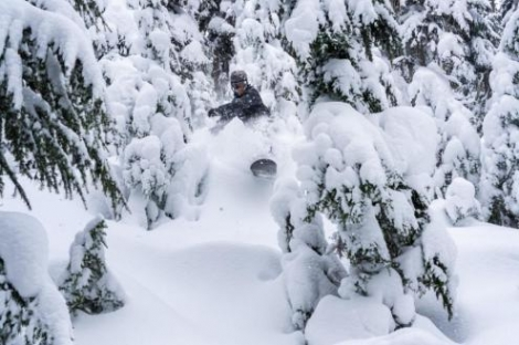 Lots of powder this week in Whistler. Photo: facebook.com/WhistlerBlackcomb