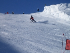 Three fabulous days skiing under blue skies in Les Arcs