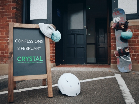 "Crystal Ski Holidays have released a fun, tongue-in-cheek campaign called ""Confessions of the Ski Obsessed"""