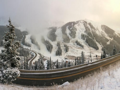 Colorado's Arapahoe Basin Ski Area opened for its 70th winter season on Friday