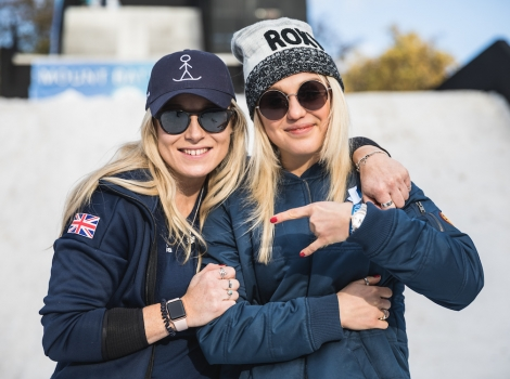 Team GB ski and snowboard athletes will be on hand to give advice and inspiration