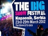 Big Snow Festival heads for Serbia
