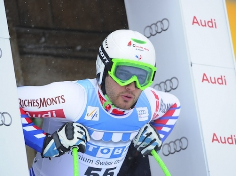 French alpine skier Brice Roger was among six people injured by the Rosolin T-bar
