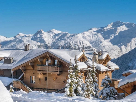 Chalet Dharkoum in Courchevel is being offered 'contactless' by Ski France