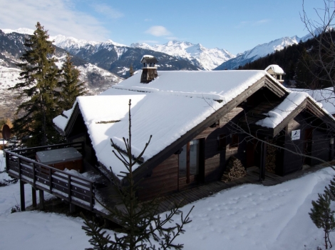 Chalet Balkiss in La Tania is one of Ski Amis' most popular premium chalets