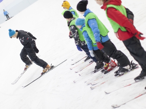 Chill Factore in Manchester, at 180m, is currently the UK's longest ski slope