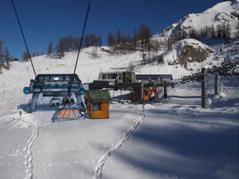 The Cibouït chairlift is being replaced by a four-person chairlift for this ski season
