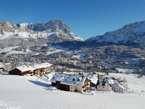 Some ski resorts in Italy – including Cortina d'Ampezzo (above) – may open next week