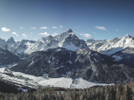 Crystal is offering the ski resort of Drei Zinnen in the Italian Dolomites this winter