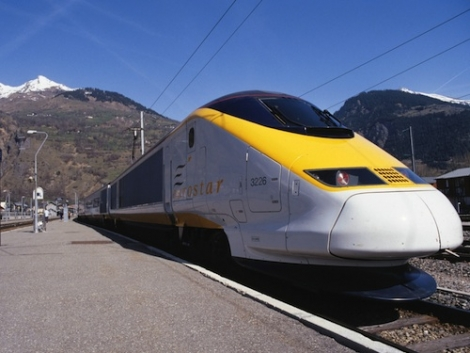 Eco option: a trip on the Eurostar for your ski holiday emits 80% less carbon than flying