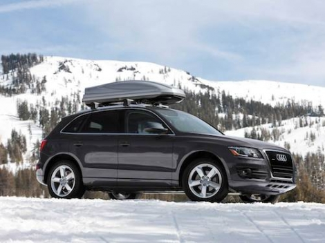 Fluidcar has a fleet of Audis to make skiers' transfers to the Three Valleys much easier