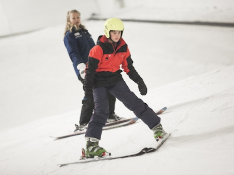Some 70 taster ski and snowboard sessions will be held this month (Pic Adam Gasson)