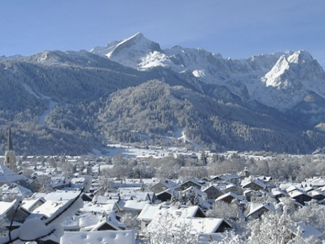 Garmisch on a snowier day