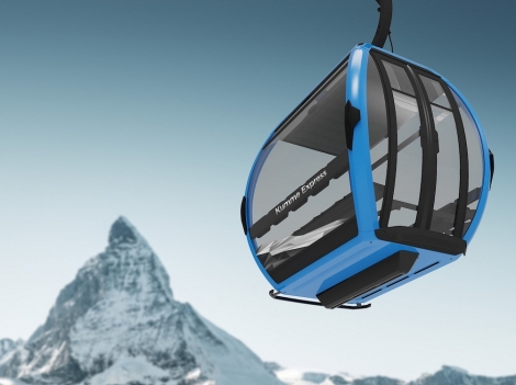 The Kumme gondola is scheduled to open in December 2020 © Zermatt Bergbahnen AG