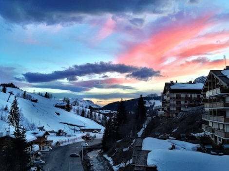 First stop on the family ski road trip was French resort Le Grand Bornand