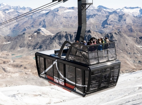 The Grand Motte cable car is opening a panoramic roof terrace this summer