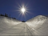 Heavenly opens new halfpipe