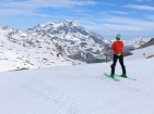 Val d'Isère makes history with summer skiing