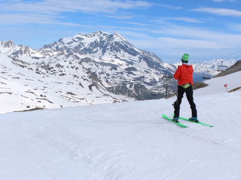 Val d'Isère made history last weekend, reopening its winter pistes