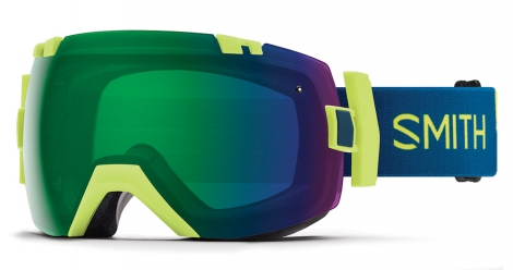 The SMITH IO/X goggles offer five-times the fog absorption of any other ski goggle