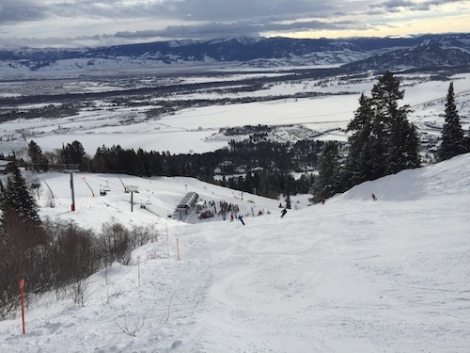 The Teton lift in Jackson Hole opened on Saturday