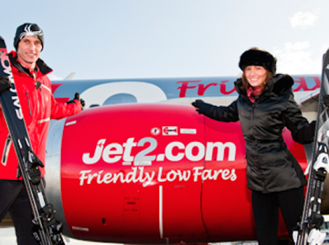Jet2.com is offering twice the number of seats for skiers next season