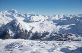 All Ski Amis' resorts have lots of snowsure high altitude skiing – this is La Plagne