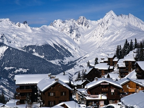 La Plagne in France is a great family option this half term