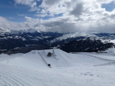 Learning to freestyle in Laax