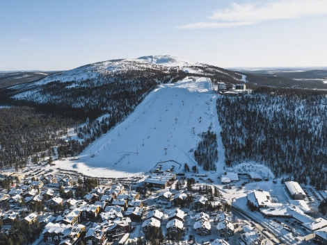 The Finnish ski resort Levi is preserving snow ready for an early start to next season. Pic: facebook.com/levilapland