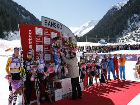 Vonn won in Bansko three years ago too  (c) Bansko Resort - I Obreykov