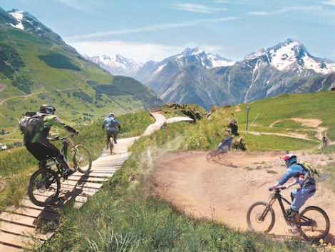 Les 2 Alpes will turn into an outdoor adventure Mecca next month