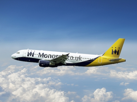 Enter our competition to win a pair of ski flights with Monarch Airlines